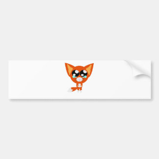 Fox Bumper Sticker