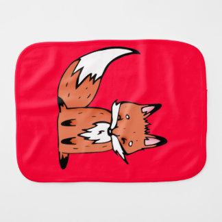 Fox Burp Cloths