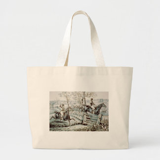 Fox Chase in Full Cry Tote Bags
