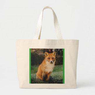 Fox Collection/ canvas bag