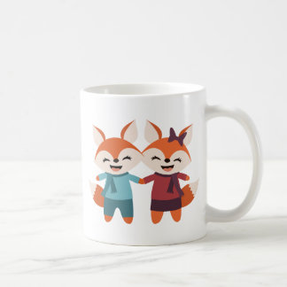 Fox Couple Mug