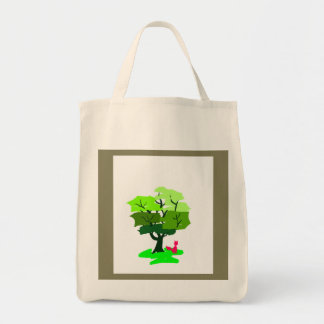 Fox Design Tote Bag