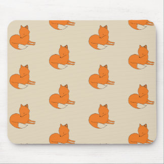 Fox Drawing Mousepad