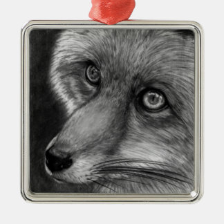 Fox Face Premium Ornament