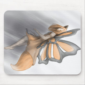 Fox fairy mouse pad