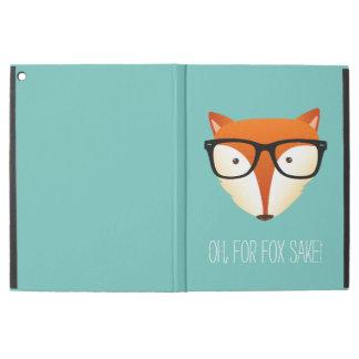 "Fox Fox Sake Cute Hipster Fox iPad Pro 12.9"" Case"