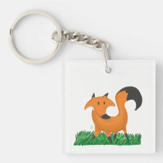 Fox garden key ring