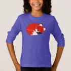 Fox Girls' Hanes ComfortBlend® Sweatshirt, Purple T-Shirt