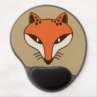 Fox Head Gel Mouse Pads