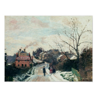 Fox hill, Upper Norwood, 1870 Poster