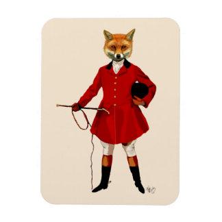 Fox Hunter 2 Full 3 Rectangular Photo Magnet