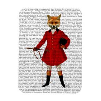 Fox Hunter 2 Full Rectangular Photo Magnet