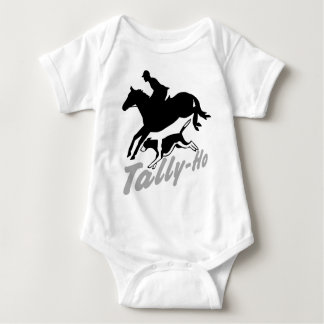 Fox Hunting Tally-Ho Baby Bodysuit