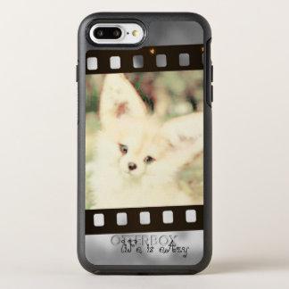 Fox in grey phone case