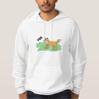 fox in the field hoodie