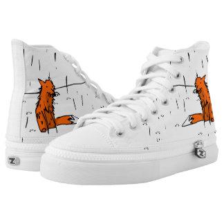 Fox in the rain trainers