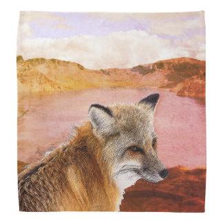 Fox In The Wilderness Bandana