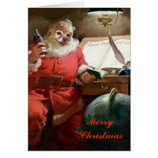 Fox Is Santa Cards