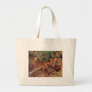 Fox Large Tote Bag