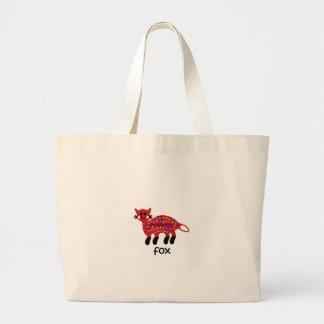 Fox Large Tote Bag