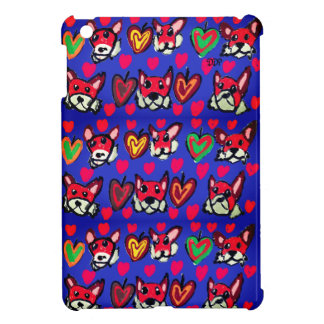 fox leaves heart iPad mini cover