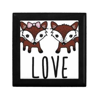 Fox love gift box