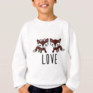 Fox love sweatshirt