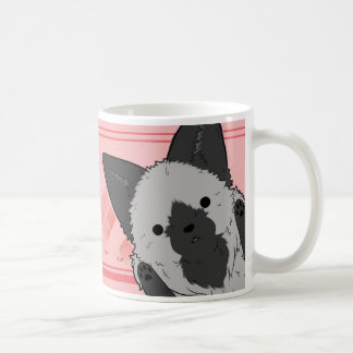 Fox magnetic cup (pink)