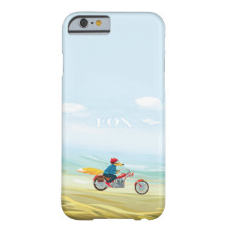 Fox-Man On A Red Motorcycle Barely There iPhone 6 Case