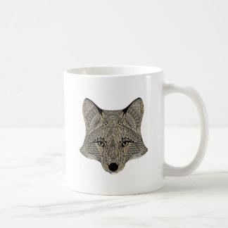 Fox metallic fox art collection coffee mug