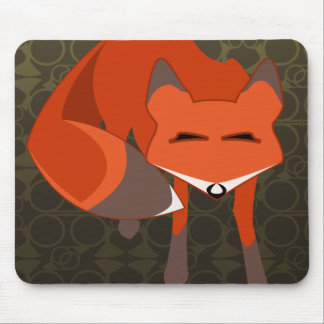 fox mouse pad