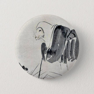 Fox nun Ukiyoe 6 Cm Round Badge
