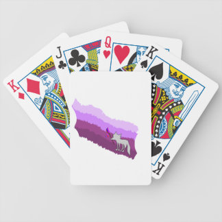 Fox of Colors Bicycle Playing Cards