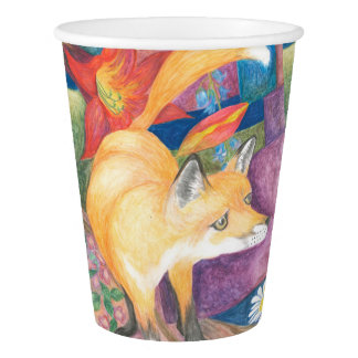 fox paper cup