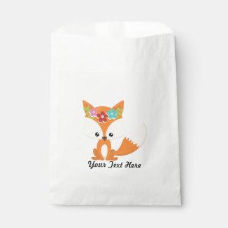 Fox Party Supplies Favour Bag