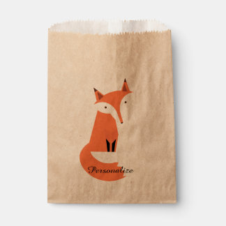 Fox Personalized Favour Bag