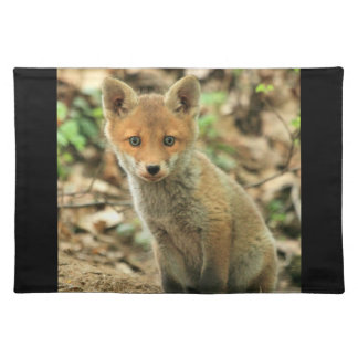 fox placemat, fox dining ware, fox gift placemat