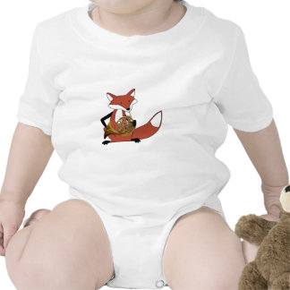 Fox Playing the French Horn T Shirts