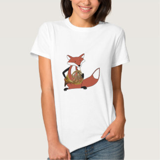 Fox Playing the French Horn Tshirts