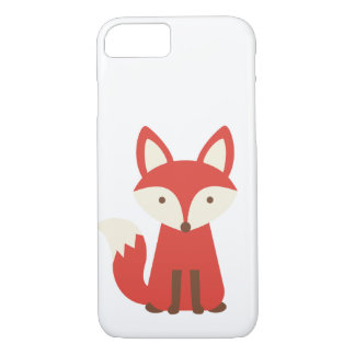 Fox print phone case