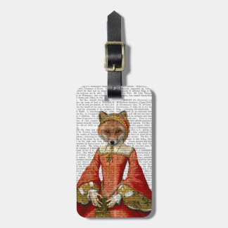 Fox Queen 2 Luggage Tag