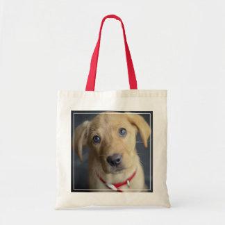 Fox Red Labrador Puppy Tote Bag