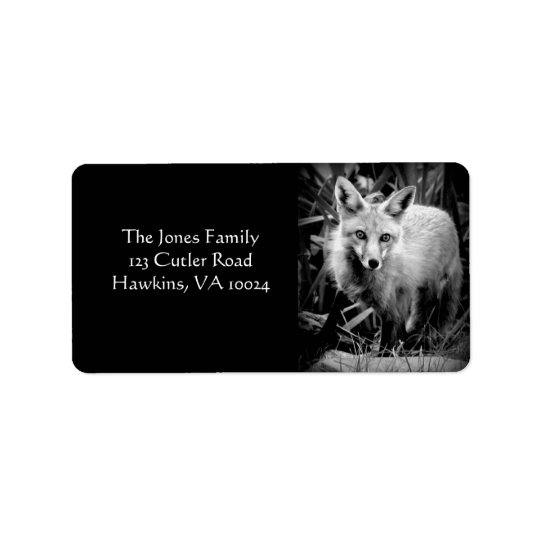 Fox Return Address Label