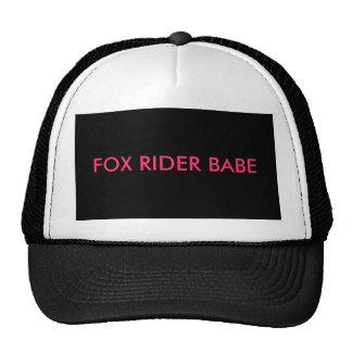 FOX RIDER BABE CAP