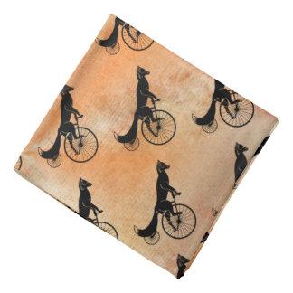 Fox Riding Vintage Bicycle Bandana