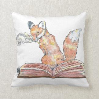 Fox Scribe Cushion