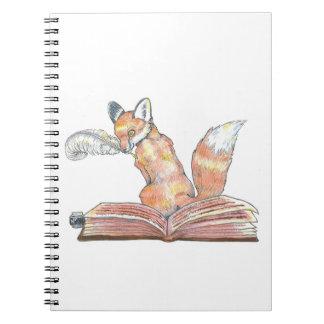 Fox Scribe Spiral Note Books