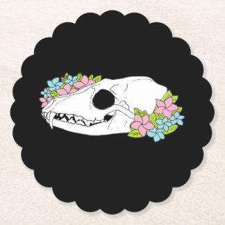 Fox Skull Coasters