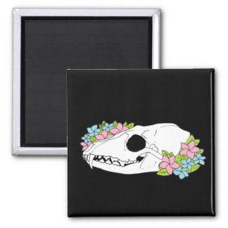 Fox Skull Magnet
