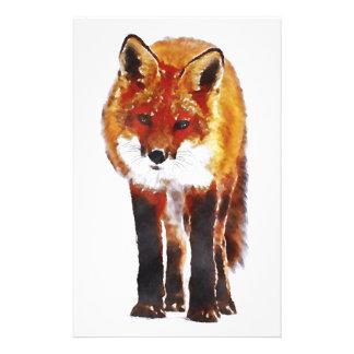 fox stationary, fox writing paper